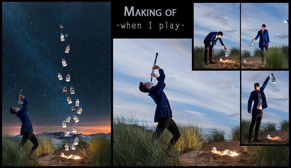When I play making of
